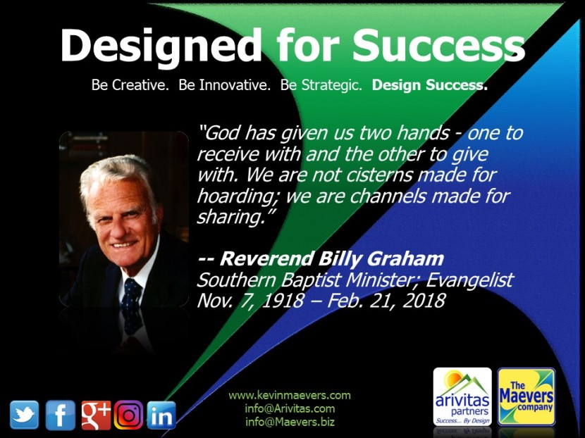Designed for Success – Billy Graham (3)
