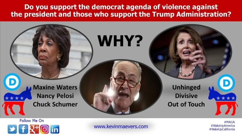 Democrat Leadership calls for a new civil war inAmerica