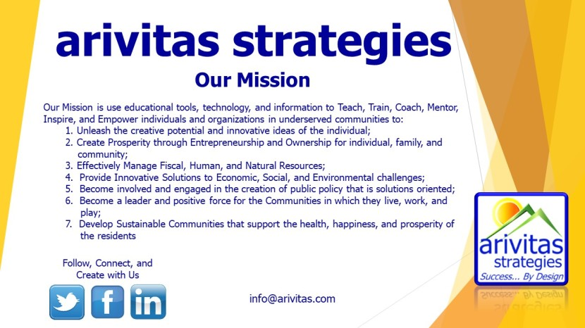 Arivitas Strategies' Mission