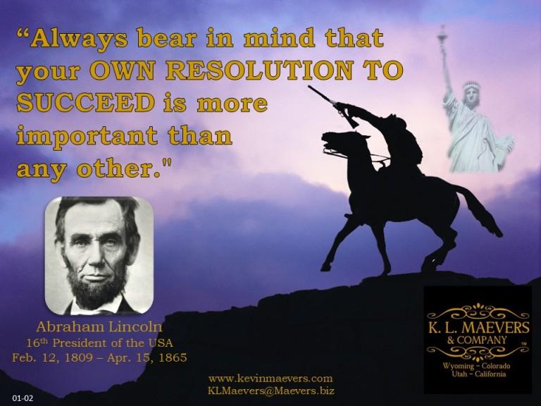 Liberty Quote 01-02 Lincoln