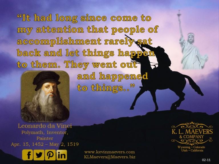 Liberty Quote 02-11 da Vinci