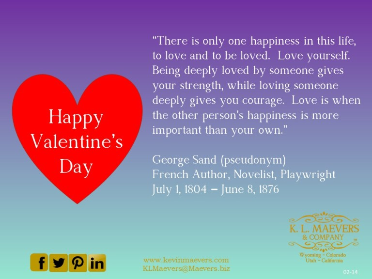 Liberty Quote 02-14 Valentines Day
