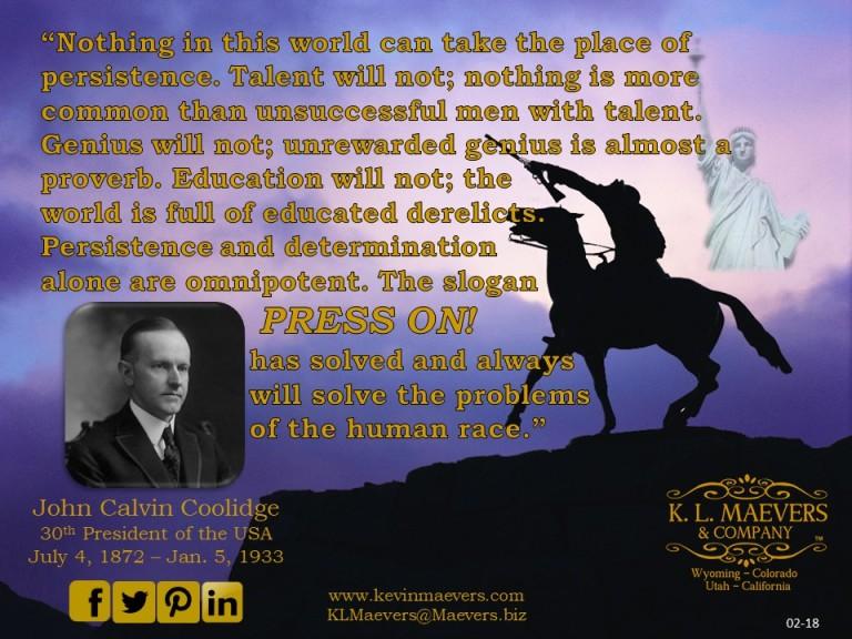 Liberty Quote 02-18 Coolidge