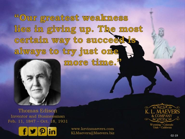 Liberty Quote 02-19 Edison